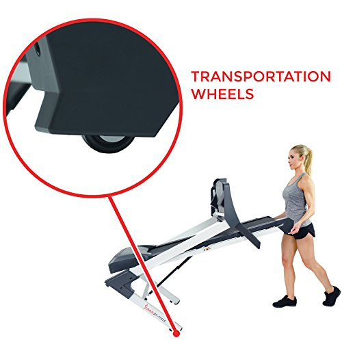 Sunny Health & Fitness SF-T7515 Smart Treadmill with Auto Incline, Bluetooth and BMI Calculator by Sunny Health & Fitness (Image #7)