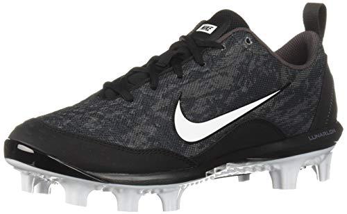 (Nike Women's Hyperdiamond 2 Pro MCS Baseball Shoe, Black/White-Thunder Grey, 5.5 Regular US)