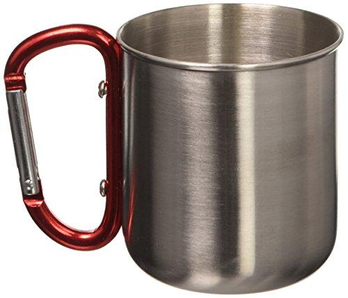 SE OD-SC301S-2 Travel Mug with Carabiner Handle by SE