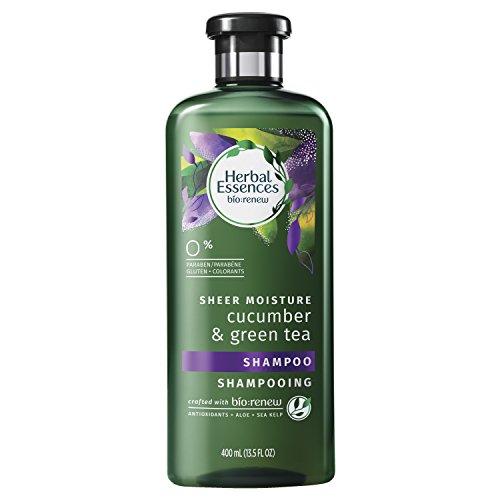 Herbal Essences Biorenew Cucumber & Green Tea Sheer Moisture Shampoo, 13.5 FL (Essence Green Tea)