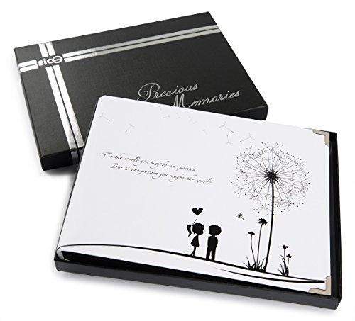 Boxed Photo Albums: SiCoHome Scrapbook,Scrapbook Album With Scrapbook Storage