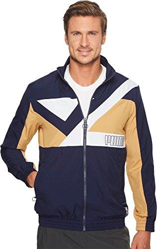 PUMA  Men's Record Track Jacket Peacoat X-Large