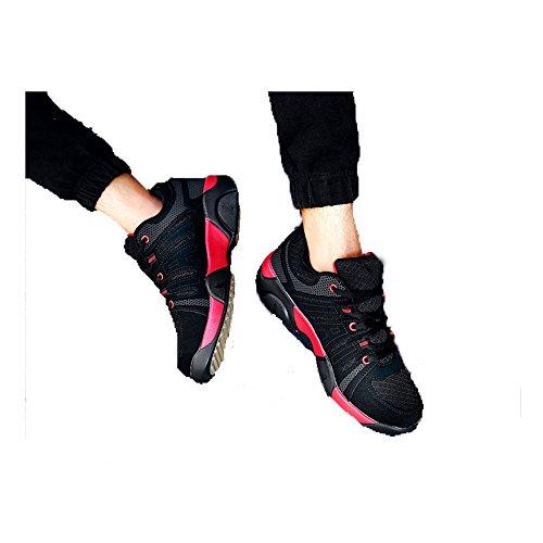 CHT Hombres Al Aire Libre Zapatos Para Caminar De Malla Transpirable Primavera Verano Senderismo Tamaño De Los Zapatos De Código De Colores Multi-multiplexado Red