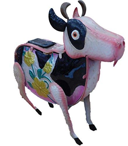 pretty-solar-light-cow-with-floral-accents-metal-garden-light-garden-lamp