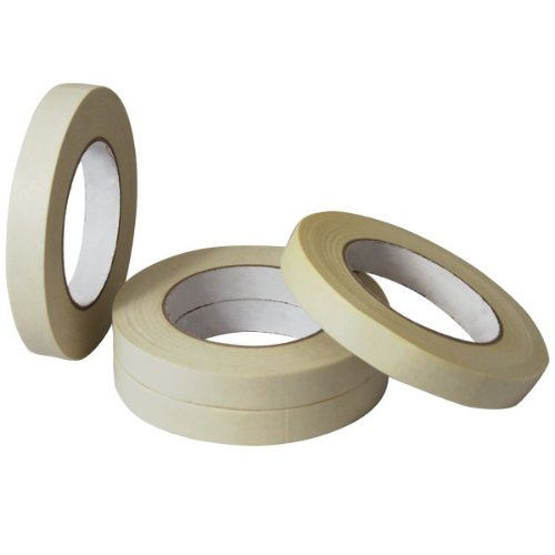 Masking Tape General Purpose 1/2'' x 60 yds 12MM 72 Rolls Per Case by The (1/2' 12mm Tape)