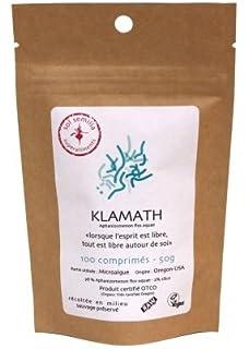 Alga Klamath - Klamath Crudo - Klamath Silvestre - Tableta de Puro Polvo de Klamath |
