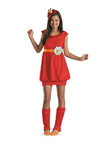 Tween Sesame Street Costumes (Sassy Elmo Sesame Street Tween Costume)