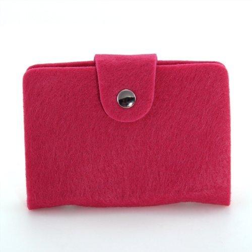 YEAH67886creative PVC Business Bank ID di credito borsa custodia wallet Holder Pocket 24carta