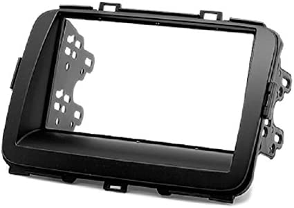 with 17398mm//178100mm//178102mm Double Din In Dash Car Stereo Installation Kit Car Radio Stereo CD Player Dash Install Kit Compatible KIA Carens 2013+; Rondo 2013