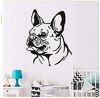 Art Deco Pegatinas de Pared Pegatinas Amor Bulldog Francés ...