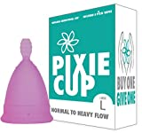 Ranked 1 for Most Comfortable Menstrual Cups and Better Removal Stem Then All Other Brands - Every Menstrual Cup Purchased One is Given to a Woman in Need!