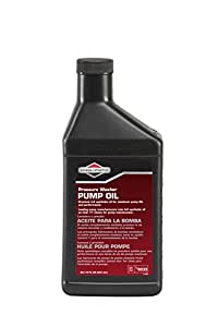 Briggs & Stratton 6033 Synthetic 75W90 Oil for Pressure Washer Pump, 15-Ounces