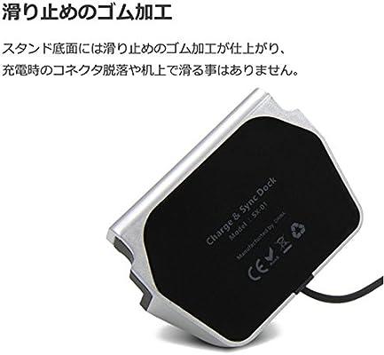 bbfaa51005 iPhone7 / iphone 7 plus 卓上ホルダー 【MaxKu 】 充電クレードル 同期 スタンド iPhone6/.  画像を読み込み中... 戻る. ダブル ...