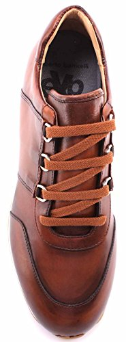 Vitello Limited Cognac Botticelli Roberto Chaussures Hommes Sneakers Experience Xqn8w6RZx