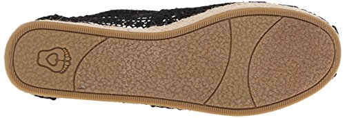 Skechers Bobs by Highlights-Amaze Femmes Toile Espadrille Black