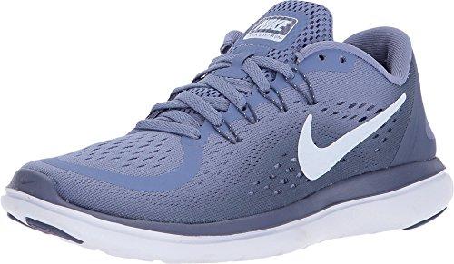 Nike Women's Flex 2017 RN Running Shoe (6, Purple Slate/Palest Purple-Blue Recall) (Nike Women Running Shoes Purple)
