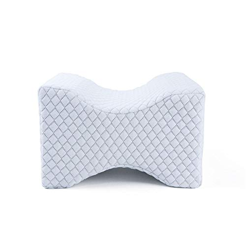 TBBA Pillow Bolster - Pain Relief Memory Foam Cushion with Removable/Washable Cotton Cover - Reduced Stress on Spine