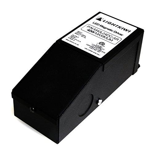 Lightkiwi H1386 40 Watt Dimmable Transformer 24vdc For