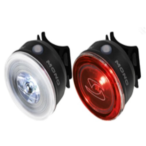 Sigma Sport Mono Front and Rear Light Combo, Black