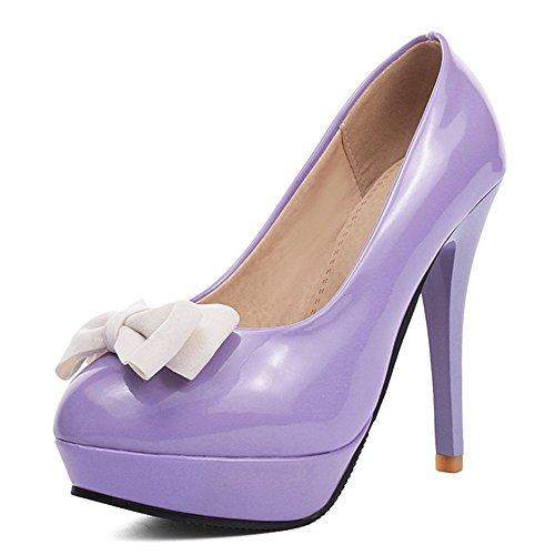 Fashion HeelCourt Pumps - plataforma mujer morado
