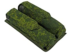 MOLLE tactical POUCH FOR TWO TUBES AT 140-160 BALLS
