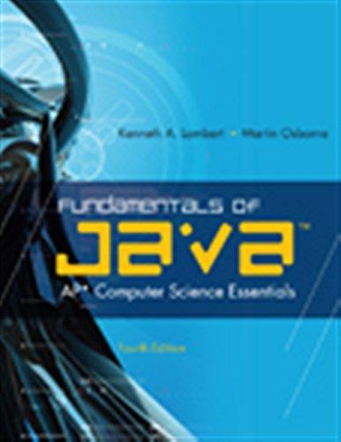 Fundamentals of Java™: AP* Computer Science - Science Java Computer