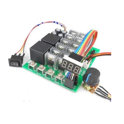 Laliva Tool - High Power MAX 5500W 100A DC Brush Motor Speed Controller Regulator forwad/Stop/Reverse Switch LED Digital Display 12V24V36V48V