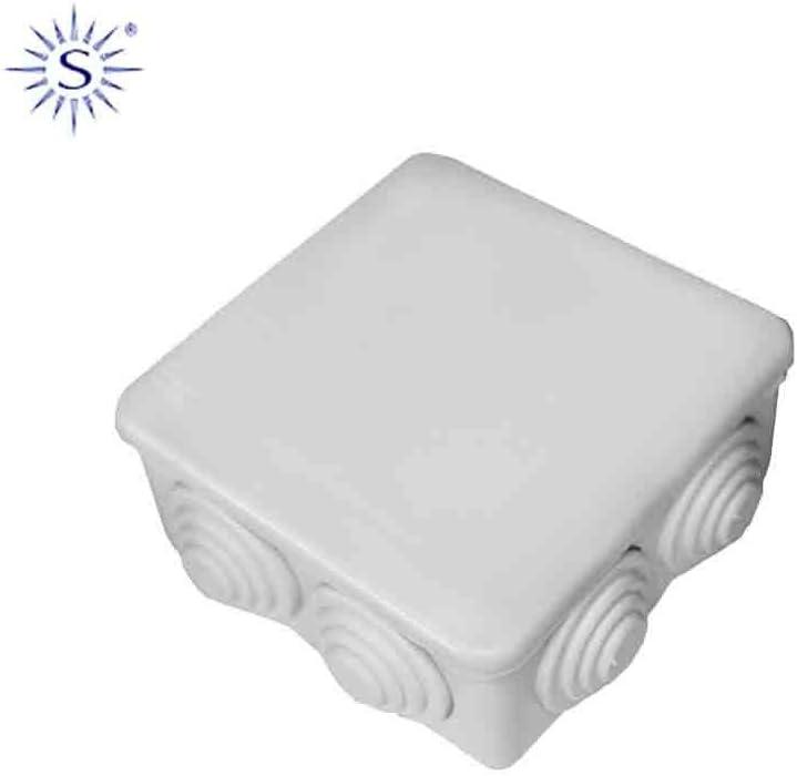 Edp 6843480183 Caja Estanca Cuadrada 110X110X45, Multicolor ...