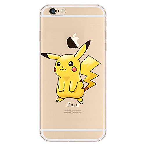 best sneakers 0e51e 19937 iPod Touch 5 case, iPod Touch 6 Case - Pokemon Custom Cute Cartoon Hard  Back Plastic Clear Cover with EatMyCase® Pen Stylus for Apple iPod Touch ...