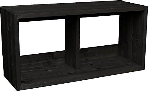 【SUGI-インテリア】つんどくボックス A4-3S 幅720×奥行250×高さ350mm(A4タイプ) CB(チャコールブラック)色