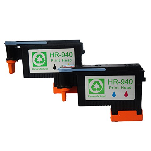 US HP 940 PRINT HEAD BLACK//YELLOW C4900A for HP OfficeJet Pro 8000 8500