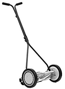 Great States 415-16 16-Inch Reel Mower Standard Full Feature Lawn Mower With T-Style Handle And Heat Treated Blades