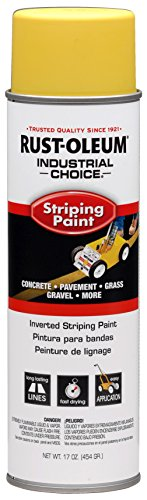 RUST-OLEUM 1648838 Stripe Yellow 18Oz