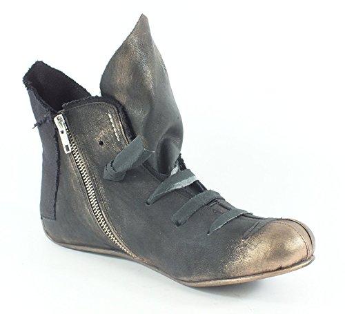 Papucei 10067 Læderstøvler Lace-sort Sort fXdpw