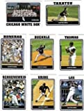 2005 Topps Chicago White Sox Baseball Cards Team Set In Display Album (23 cards including Guillen, Konerko, and more)
