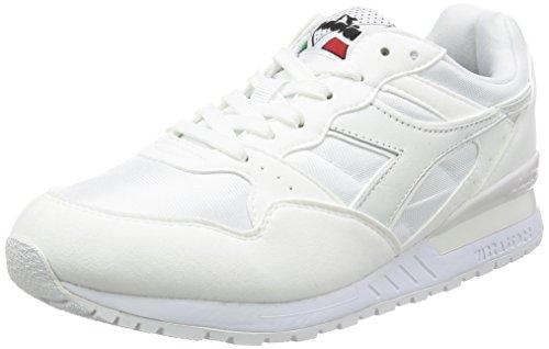 Diadora - Scarpe Sportive Intrepid Nyl per Uomo e Donna C0657 - Bianco-bianco