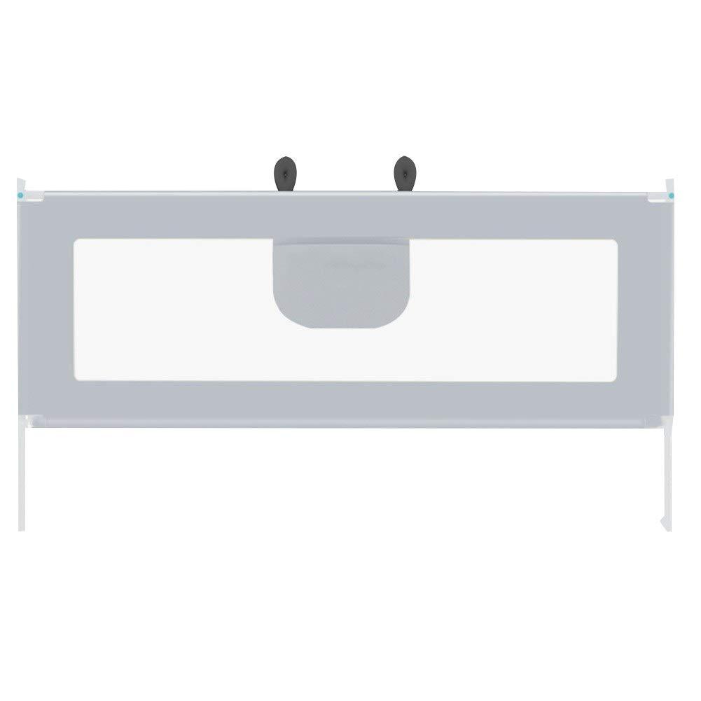 WHAIYAO ベッドレールベビーガードレール長方形の構造オックスフォード布鋼管材料屋内、2色 (Color : Gray#A, Size : 150x95cm) 150x95cm Gray#A B07SSBY2L5