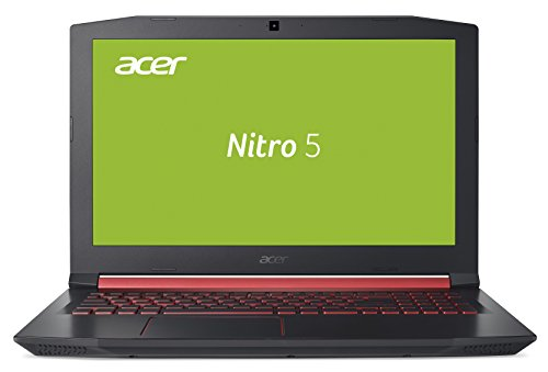 Acer Nitro 5 (AN515-51-572A) 39,62 cm (15,6 Zoll Full-HD IPS matt) Notebook (Intel Core i5-7300HQ, 8 GB RAM, 128 GB SSD, 1.000 GB HDD, NVIDIA GeForce GTX 1050Ti, Win 10 Home) Schwarz