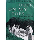 img - for Dust on my toes;: Stories of people near and far book / textbook / text book