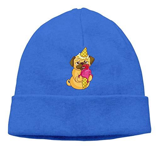 Charm Watch Ice Cream - Beanie Hats Women Winter Warm Dog Unicorn Ice Cream Watch Cap