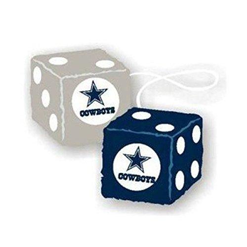 Rearview Mirror Fuzzy Dice - NFL Football - Dallas Cowboys