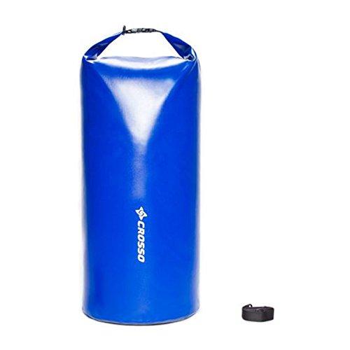 CROSSO Transportbeutel für den Gepäckträger Blau 10 L