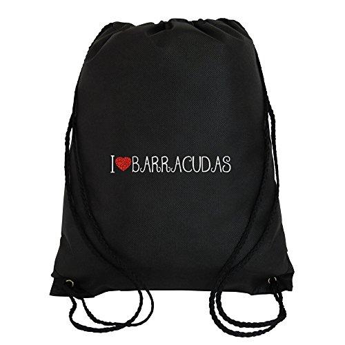 Idakoos - I love Barracudas cool style - Animals - Sport Bag
