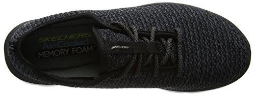 Sneakers da Nero 0 Advantage Skechers 2 bianco cravy Flex nero uomo XZYq6g