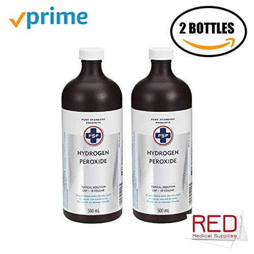 PSP Hydrogen Peroxide 3%, 2 Bottles | 500ml for sale  Delivered anywhere in Canada