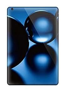 VWs9868qpQU Bubble Blue 3d Fashion Tpu Mini Cases Covers For Ipad