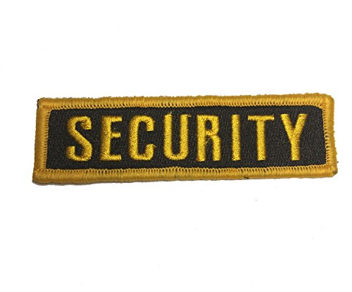 Security Uniform Patches (Security uniform patch 4x1