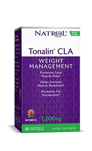 Natrol Tonalin CLA 1200mg Softgels, 90-Count (Pack of (Natrol Tonalin Cla)