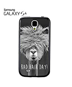 Bad Hair Day Llama Mobile Cell Phone Case Samsung Galaxy S4 Black