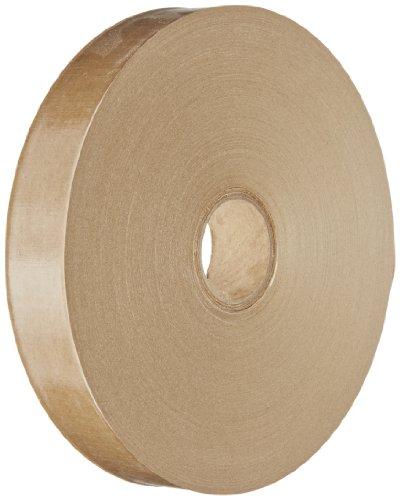 (Intertape T1000C Convoy Light Duty Paper Gum Side Out Tape, 500' Length x 1